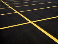 Line Painting Parking lot lines