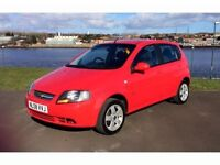 Chevrolet Kalos 1.4 SX 2008 model, very low miles, full m.o.t, 3 months extendable warranty.