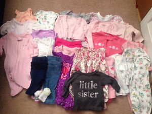Baby girl lot 0-3 months REDUCED!