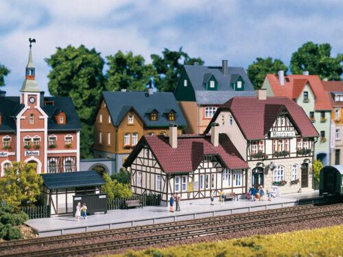 Auhagen 13321 Tt Gauge, Railway Station Moorbach # New Original Packaging #