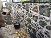 Stonemason/ stone restorer/ lime pointing/ Lithomix repair