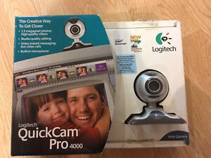 REDUCED!!!! Logitech QuickCam Pro 4000