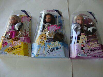 Bratz Play Sportz X-Treme Dolls LEAH, YASMIN & CLOE MGA Entertainment - NEW