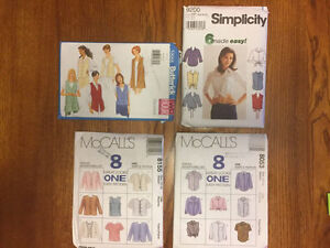 4 adult sewing patterns