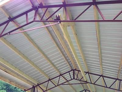 3 - 20 Pole Barn Steel Trusses