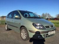 RENAULT MEGANE SCENIC IMMACULATE CAR NEW MOT FULL HISTORY PEOPLE CARRIER MPV