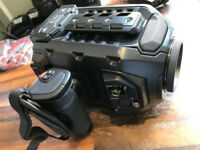 Blackmagic Ursa Mini 4K EF + lens and extras.