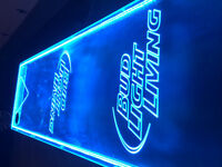 """""""Bud light Beer Pong Table - PERFECT FOR A MANCAVE!"""""""