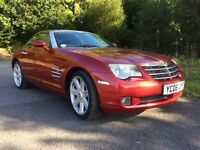 2006 CHRYSLER CROSSFIRE 3.2 V6 VERY LOW MILES STUNNING CAR!