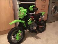 Kids electric mx bike