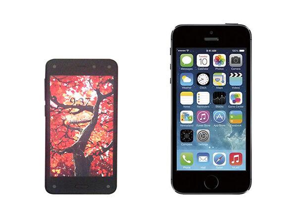 Amazon Fire Phone vs. iPhone 5s