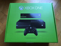 Boxed Xbox One (500GB) with Kinect and Battlefield 1!
