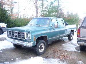 Looking for a crew cab body