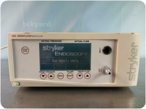 STRYKER 620-040-504/F112 40L 40 LITER CORE HIGH FLOW INSUFFLATOR LAPAROFLATOR !