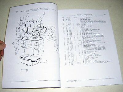 John Deere 420 430 Tractor Parts Catalog Manual