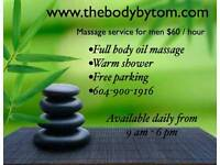 ((((First Time $60/hour)))) Men Massage Service by Asian Male