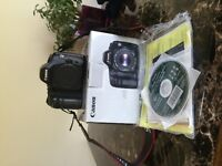 Canon 5d with all original acc. Includes 2 batteries