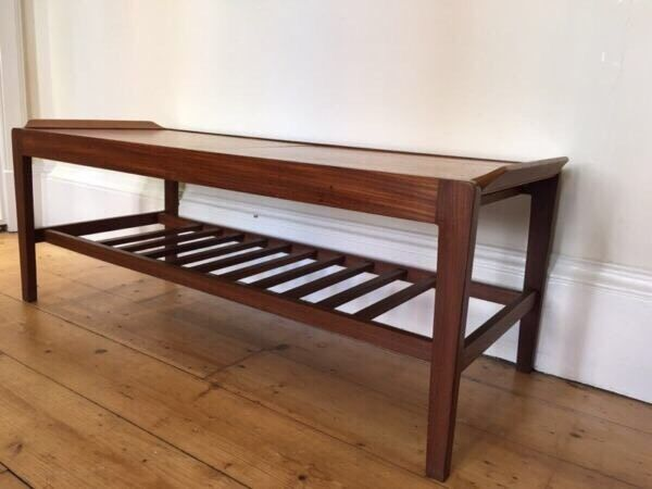 Vintage Extending Coffee Table By Remploy Mid Century Retro Teak