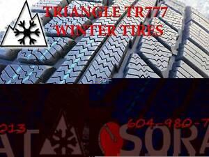 WINTER-TIRES 185/65/14 TRIANGLE TR777 FREE INSTAL & BALANCE