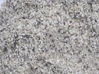 Silver granite sand and pearl grey dash