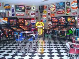 **WANTED** Arcade Machines, Vintage Games Machines, Music/Retro Memorabilia. Neon Lighting & More