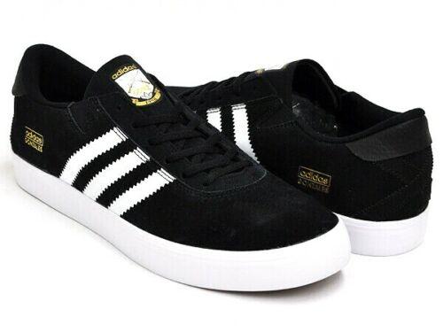 Adidas Skateboarding Gonz Pros Skate Shoes Black/White Q33324 Men