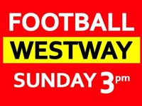 Sunday 3pm 8 a side football game in West London needs players