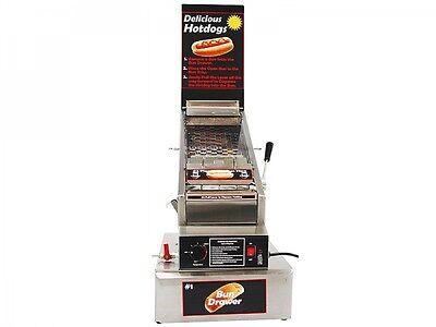 Benchmark Doghouse Commercial Hot Dog Steamer Cooker Machine Merchandiser 60024