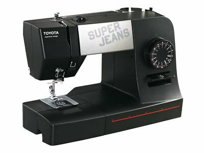 TOYOTA 15 Super Jeans Nähmaschine SUPERJ15-schwarz c3d9e1ba5f