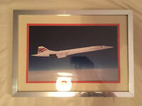 Mike Bannister Signed Concorde Photo
