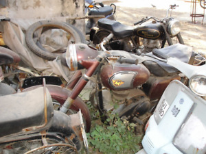 dead motorcycles - Cash paid/scrap motorcycles hauled away