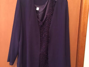 Women's mother of the bride outfit size 22W