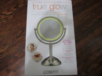 Brand new Conair True Glow lighted mirror