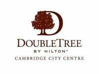 Group, Conference and Events Sales Agent - Double Tree by Hilton Cambridge. £16K PA