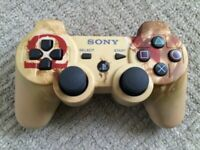 PS3 Controller - GOD OF WAR - Ascension Limited Gold Edition Controller
