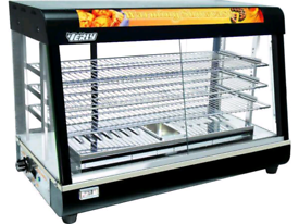Heated Showcase is perfect for any cafe, Bistro, bakery, corner shop,