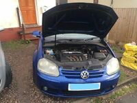 Volkswagen Golf Mark 5 2004 2.0 PETROL GT FSI AUTO DSG Gear Box Breaking