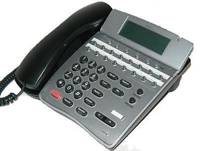 Fully Refurbished Nec Ith-16d-3 16-line Ip Phone With Lcd Display Black