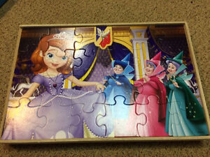 Puzzles in a Wooden Box (8)