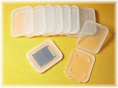 16 x SD SDHC MMC Etui Hülle Card Case Speicherkarte BOX