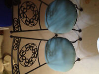 2 Patio/garden Chairs - sold as a set