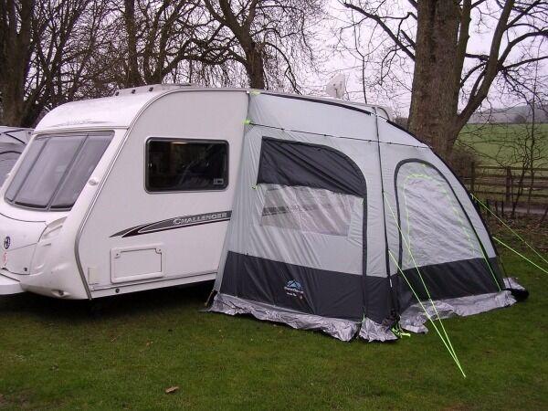 SunnCamp Scenic Plus Lightweight Caravan Porch Awning