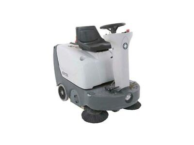Reconditioned Advance Terra 3700b Battery Powered Rider Floor Sweeper