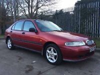 ROVER 400 1.4 LITRE LOW MILES FOR AGE GREAT CONDITION NO MOT CHEAP CAR