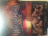 Wrestle Mania XXIV 3 Disk set Limited collectors edition
