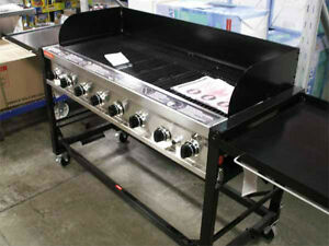 COMMERCIAL /EVENT 8-BURNER GAS BBQ 116,000BTU 52X24 COOK SURFACE