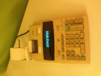 calculatrice avec imprimante CASIO