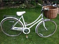 Retro Raleigh Dutch loop style bike