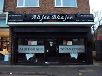Indian Restaurant & Takeaway for sale