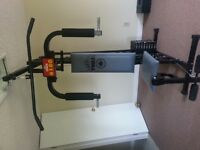 YORK MULTIGYM WITH EXTRA WEIGHTS